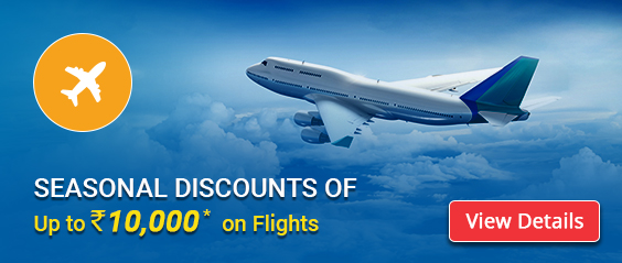 Domestic & International Flight Deals – Up to Rs. 10000 OFF