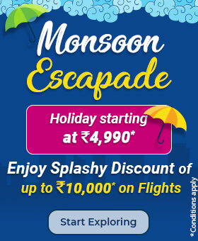 Book Holiday Packages, Flight Tickets, Travel & Tour Packages Online