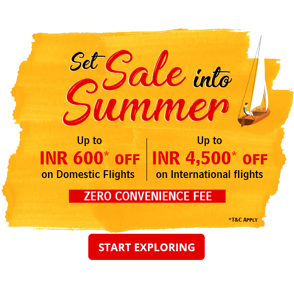 Online Flight Booking Deals Upto 4500 OFF on Tickets | Summer Flight Sale – Riya Travel